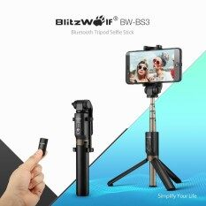 ขาย Blitzwolf Bw Bs3 3 In 1 Bluetooth Mini Extendable Folding Tripod Selfie Stick Black Intl จีน