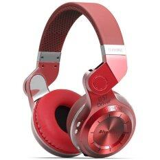 ส่วนลด Bluedio หูฟัง Bluetooth 4 1 Hifi Stereo Headphone รุ่น T2 Red Bluedio