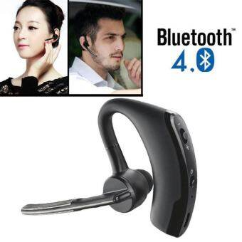 Bluetooth 4.0 Wireless Headset Earphone Hands-Free Stereo Headset with Mic Noise Cancelling for Business, Driving, Sports - intl-