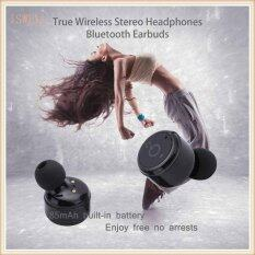 โปรโมชั่น Bluetooth Earphone X2T Mini Wireless Bluetooth Headphones Noise Cancelling And True Wireless Bluetooth V4 2 For Ipod Wireless Earbuds Stereo Surround Sound Headset Earphone Tongxu Life Intl ใน จีน