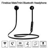 Bluetooth Headphones Fineblue Mate7Mini Stereo Bluetooth 4 In Ear Sport Sweatproof Magnetic Headsets Noise Cancelling Music Earphones Hands Free W Mic Black For Iphone 7 6S Samsung Galaxy S7 Note 6 Android Ios Smartphone Intl ใน จีน
