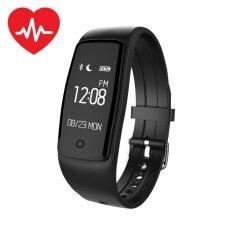 นาฬิกาข้อมือ สมาร์ทนาฬิกา  Heart Rate Fitness Calorie Tracker Call/SMS Alert