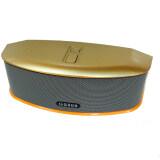 ทบทวน Bluetooth Speaker รุ่น Gs 809 สีทอง