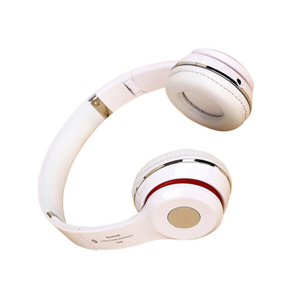 Bluetooth Stereo Headphones  (Red)   - Intl