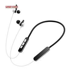 ส่วนลด Bluetooth Wireless Headset Outdoor Sports Running Stereo Music Resistant Noise Cancellation Reduction Earpiece Rechargeable In Ear Earphones Intl