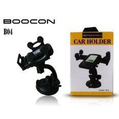 Boocon Car Holder ขาตั้งที่วางโทรศัพท์มือถือในรถยนต์ B04 สีดำ ใน ไทย