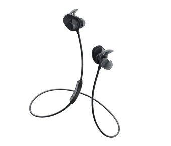 BOSE หูฟังไร้สายแบบเสียบหู รุ่น SoundSport Wireless - สี Black