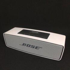 ทบทวน ที่สุด Bose Soundlink Mini Portable Speakers ลำโพงบลูทูธ สีขาว ภาพสินค้าจริง ไม่แต่งภาพใดๆ