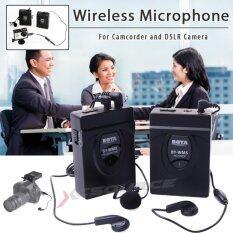BOYA ไมโครโฟนไร้สาย BY-WM5 สำหรับกล้อง DSLR กล้องวีดีโอ
