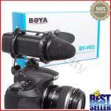 ราคา ไมค์อัดเสียง Boya Compact Stereo Microphone รุ่น By V02 ถูก