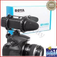 ราคา ไมค์อัดเสียง Boya Compact Stereo Microphone รุ่น By V02 Boya กรุงเทพมหานคร