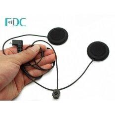 ซื้อ Brand Fdc Soft Line Headset Mic Micphone Headphone For T Com Bluetooth Intercom Intl ออนไลน์