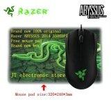 ขาย Brand New Original Razer Abyssus 2014 Ambidextrous Gaming Mouse 3500Dpi Optical Sensor 3 Programmable Hyperesponse Buttons Free Mouse Pad Intl Razer ถูก