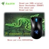 ขาย Brand New Original Razer Deathadder Mouse Gaming Mouse 3500Dpi Free Razer Mouse Pad Retail Box Intl ผู้ค้าส่ง