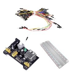 ซื้อ Breadboard Kit 3 3V 5V Breadboard Power Supply Module Mb 102 Model 830 Tie Points Solderless Pcb Breadboard With Adhesive Tape And 65Pcs Breadboard Wires Intl ใหม่ล่าสุด