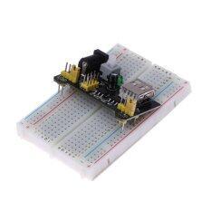 Breadboard พาวเวอร์ซัพพลายโมดูล 3.3 โวลต์ 5 โวลต์บอร์ด Arduino + Breadboard 830 จุด - นานาชาติ By Happydeals.