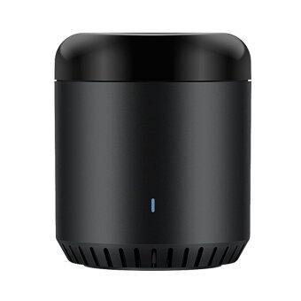 Broadlink RM Mini \Black Bean\ อุปกรณ์ควบคุมรีโมทอินฟราเรด (IR) สามารถสั่งงานด้วยเสียง ผ่าน iOS และ Android