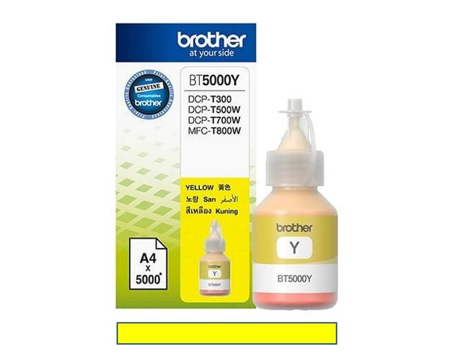 Brother BT-5000Y Ink Refill (Yellow)สีเหลือง