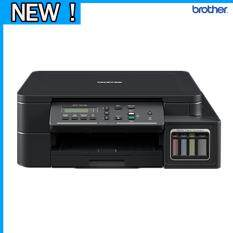 Brother Dcp T510W เครื่องพิมพ์มัลติฟังชั่นสี พร้อมหมึกใช้งาน 1 ชุด สีดำ 2 ขวด และสีอย่างละ 1 ขวด เป็นต้นฉบับ