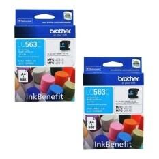 ทบทวน Brother Ink รุ่น Lc 563C 2 กล่อง สีน้ำเงิน