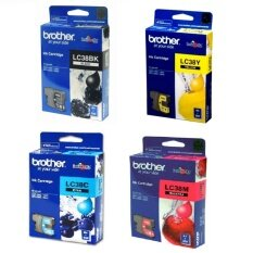 ราคา Brother Lc 38Bk Lc 38C Lc38M Lc 38Y Ink Set 4 กล่อง เป็นต้นฉบับ