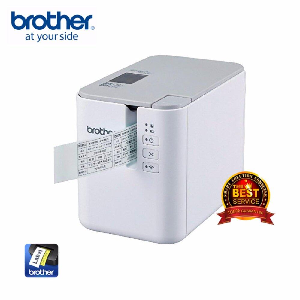 Brother PTP900W Wireless Powered Label Printer