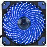 Brushless Fan Case 120Mm L 12025 33 Blue Led เป็นต้นฉบับ