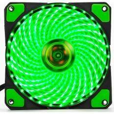 Brushless FAN CASE 120MM L-12025 33 Green LED