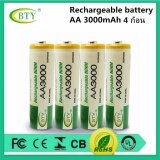 ราคา Bty ถ่านชาร์จ Aa 3000 Mah Nimh Rechargeable Battery 4 ก้อน ใหม่ล่าสุด