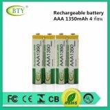 Bty ถ่านชาร์จ Aaa 1350 Mah Nimh Rechargeable Battery 4 ก้อน เป็นต้นฉบับ