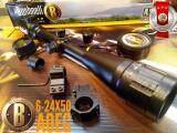 ซื้อ กล้องติดปืน Bushnell 6 24X50 สเป็คโหด หน้าเลนส์ใหญ่ Bushnell