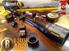 กล้องติดปืน Bushnell 6-24x50 สเป็คโหด หน้าเลนส์ใหญ่