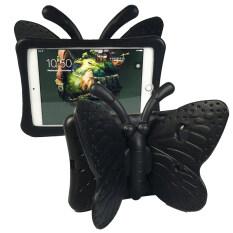 Butterfly case ipad mini เคสผีเสื้อ ไอแพดมินิ 2/3/4 กันการกระแทก (สีดำ)