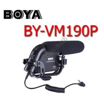 BY-VM190P Boya Shotgun Microphone For DSLR Camera Camcorder ไมค์ติดหัวกล้องสำหรับกล้องDSLR