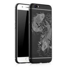 ขาย Byt Fish Debossed Silicon Screen Protective Cover Case For Oppo A59 F1S Intl จีน ถูก