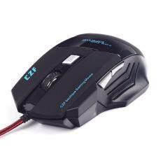 ราคา C2F Boutique เกมมิ่ง เมาส์ 3200 Dpi พร้อม 2 ปุ่มมาโคร เมาส์มาโคร เม้ามาโคร เมาส์คอมพิวเตอร์ เมาส์เลเซอร์ เมาส์เกมมิ่ง Mouse Gaming Mouse เมาส์สำหรับเกม เมาส์เล่นเกม Glare