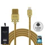 ราคา Cable Iphone 1M Master Wdc 030 สายชาร์จ Wk ใหม่ล่าสุด