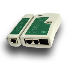 ส่วนลด Cable Lan Tester Rj45 And Rj11 White Green Unbranded Generic ใน ไทย
