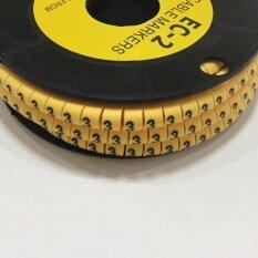 ความคิดเห็น Cable Markers No 3 เคเบิ้ลมาร์คเกอร์ หมายเลข 3 จำนวน 500 ตัว สีเหลือง