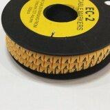 ซื้อ Cable Markers No 4 เคเบิ้ลมาร์คเกอร์ หมายเลข 4 จำนวน 500 ตัว สีเหลือง Cable ออนไลน์