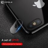 Cafele 2Pcs For Iphone X Camera Len Protector Tempered Glass Ultra Thin 2Mm 9H Hard Camera Lens Protecive Film For Iphone X Intl ใหม่ล่าสุด