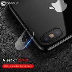 ราคา Cafele 2Pcs For Iphone X Camera Len Protector Tempered Glass Ultra Thin 2Mm 9H Hard Camera Lens Protecive Film For Iphone X Intl Cafele ใหม่