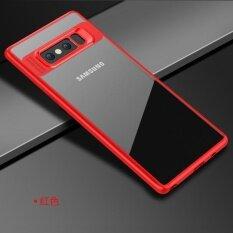 ขาย Cafele ซองป้องกันทีพียูและอะคริลิคใสฝาหลังสำหรับ Samsung Galaxy หมายเหตุ 8 นานาชาติ ออนไลน์