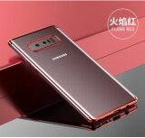 Cafele Transparent Tpu Colorful Plating Soft Tpu Cover Case For Samsung Galaxy Note 8 Intl เป็นต้นฉบับ