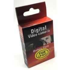 ซื้อ Camera Battery Lp E17 For Canon Eos M3 M5 M6 750D 760D 800D Black ใหม่