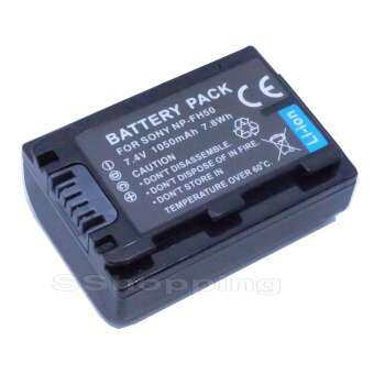 Camera battery NP-FH50 for Sony DSC-HX100 A230 A330 A290 A390(black)