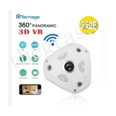 Camera VR Cam 3D 130VR IP CAMERA กล้องวงจรปิด 360 องศา