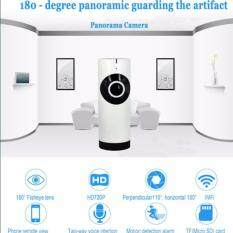 Cameraplus กล้องวงจรปิด กล้องเฝ้าเด็กทารก Panoramic 180 Degree HD 1.0 MP Wireless WIFI IP Camera Home Security