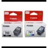 ราคา ตลับหมึก Canon 740 Black Canon 741 Color Original สีดำและสี ถูก