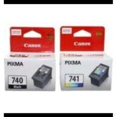 ขาย ตลับหมึก Canon 740 Black Canon 741 Color Original สีดำและสี ออนไลน์ กรุงเทพมหานคร